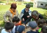 За Деня на земята посадихме семенца с първолаците, 2013 г.